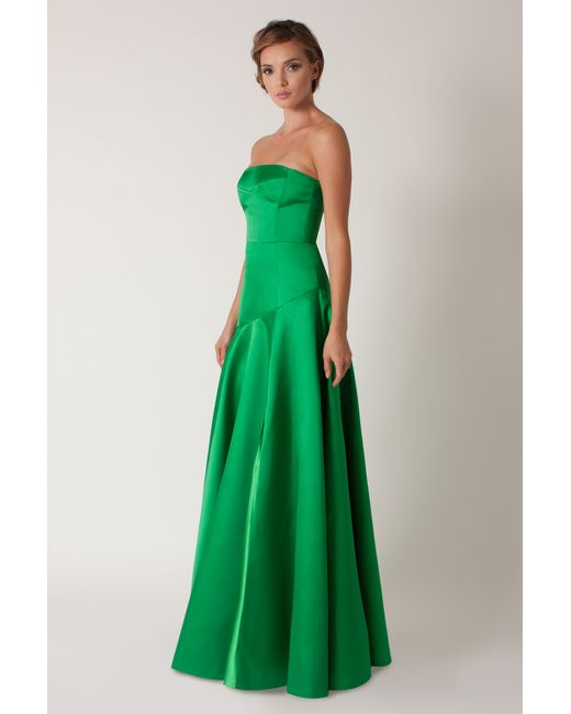 Black Halo | Green Satyana Gown | Lyst