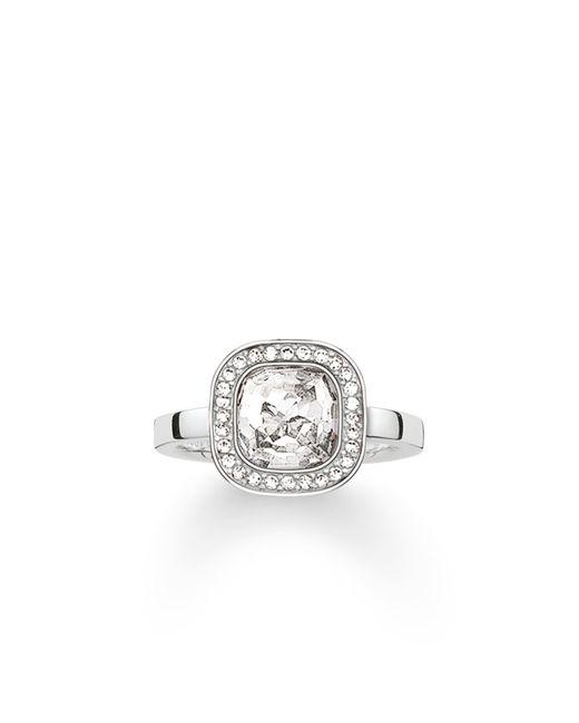 Thomas Sabo | Secret Of Cosmo White Zirconia Ring | Lyst