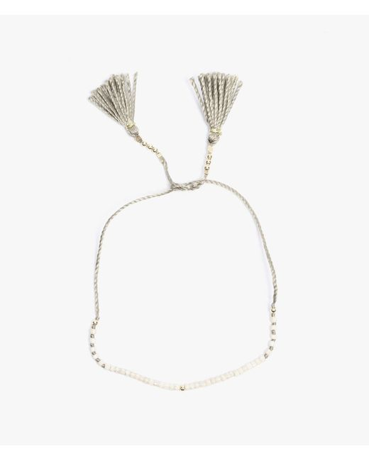 Iwona Ludyga   Gray Hara Small Tie Bead Bracelet   Lyst