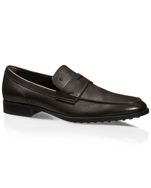 Tod's | Brown Leather Loafers | Lyst