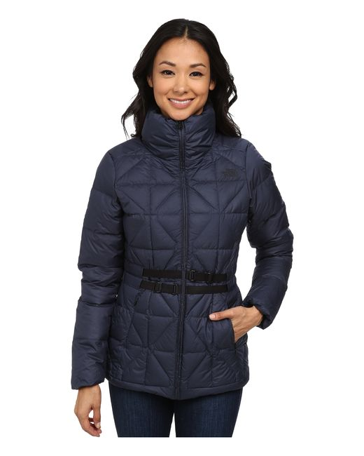 The North Face | Blue Belted Mera Peak Jacket | Lyst