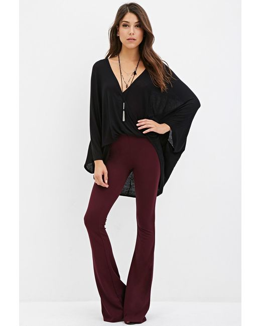 Forever 21   Purple Classic Flared Pants   Lyst