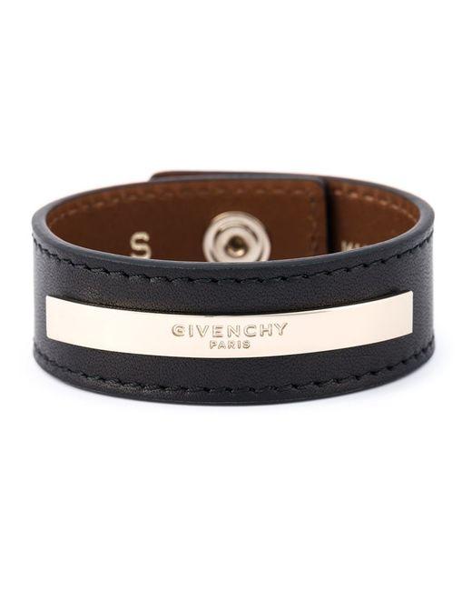Givenchy   Black 'paris' Bracelet   Lyst