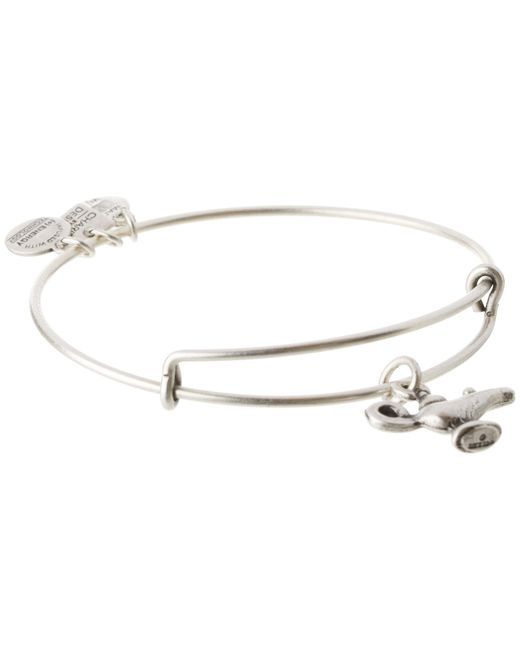 ALEX AND ANI | Metallic Lamp Of Light Charm Bangle | Lyst