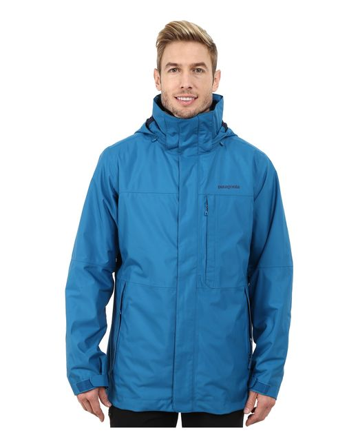 Patagonia | Blue 3-in-1 Snowshot Jacket for Men | Lyst