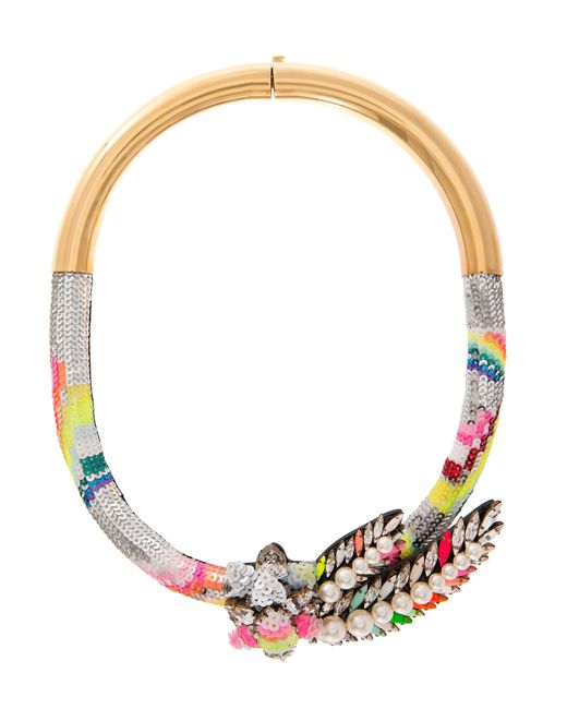 Shourouk | Multicolor Double Zulunecklace | Lyst