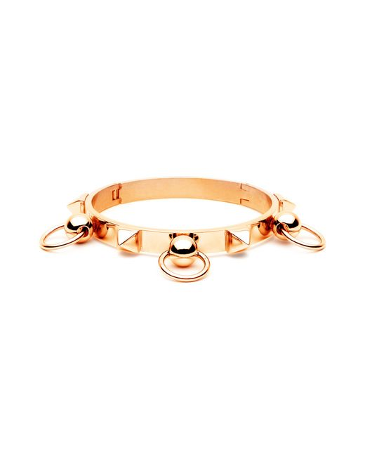 Forever 21 | Metallic Amber Sceats Triple Ring Bangle | Lyst