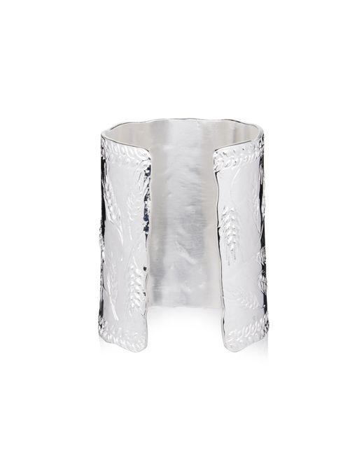 Aurelie Bidermann | Metallic Francoise Silver-plated Cuff | Lyst