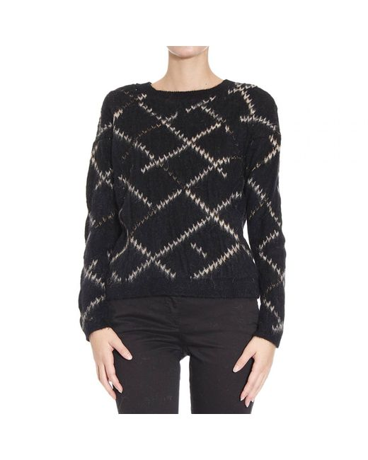 Manila Grace | Black Sweaters | Lyst