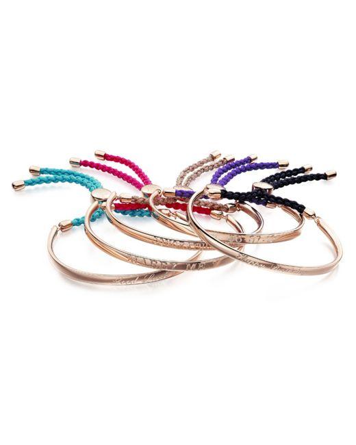 Monica Vinader | Pink Fiji Friendship Petite Bracelet | Lyst