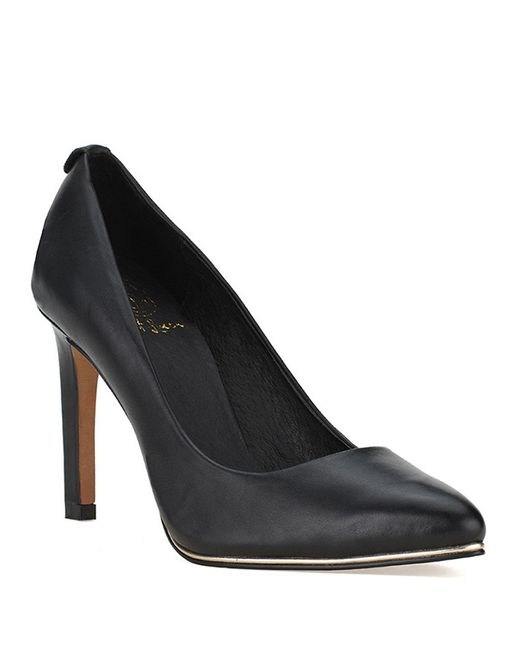 Elliott Lucca | Black Catalina Leather Pumps | Lyst