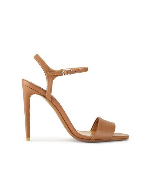 Pink Pony | Metallic Blianna Calfskin Sandal | Lyst