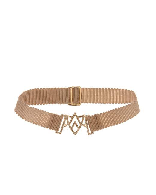 Jade Jagger | Metallic Diamond & Yellow-Gold Chevron Sheild Bracelet | Lyst