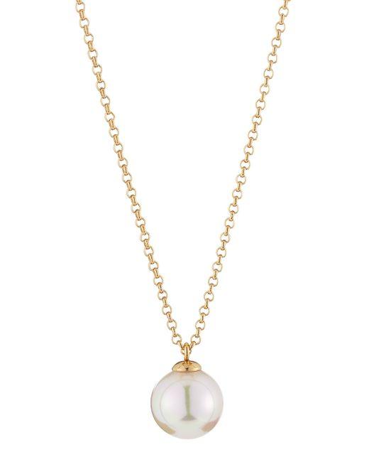 Majorica | White Pearl Pendant Necklace | Lyst
