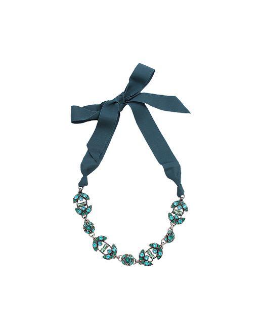 Lanvin | Green Short Crystal Necklace | Lyst
