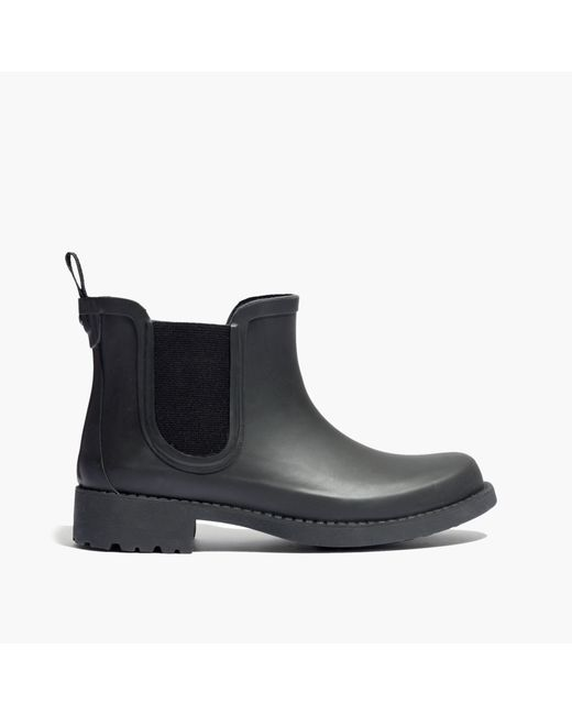 Madewell The Chelsea Rain Boot In Black Lyst