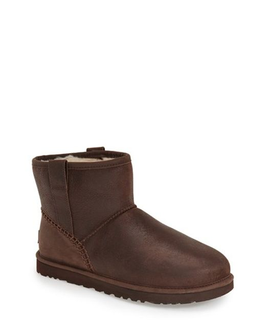 UGG | Brown Ugg Classic Mini Boot for Men | Lyst