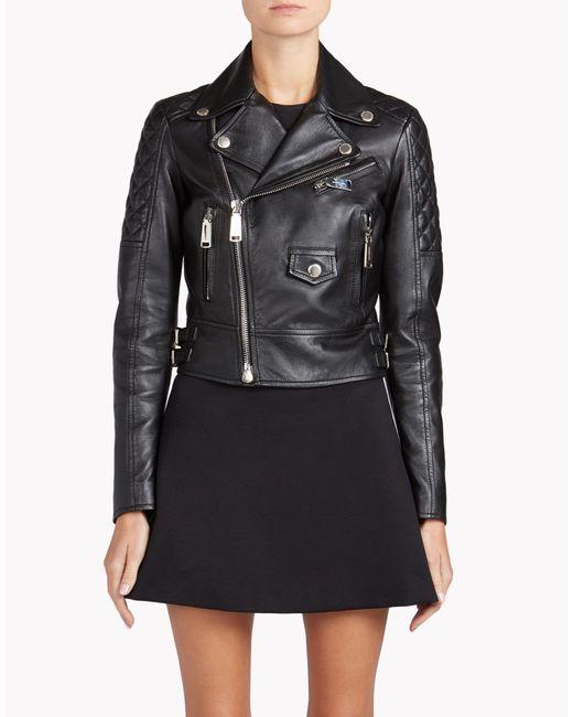 DSquared² | Black Leather Jacket | Lyst