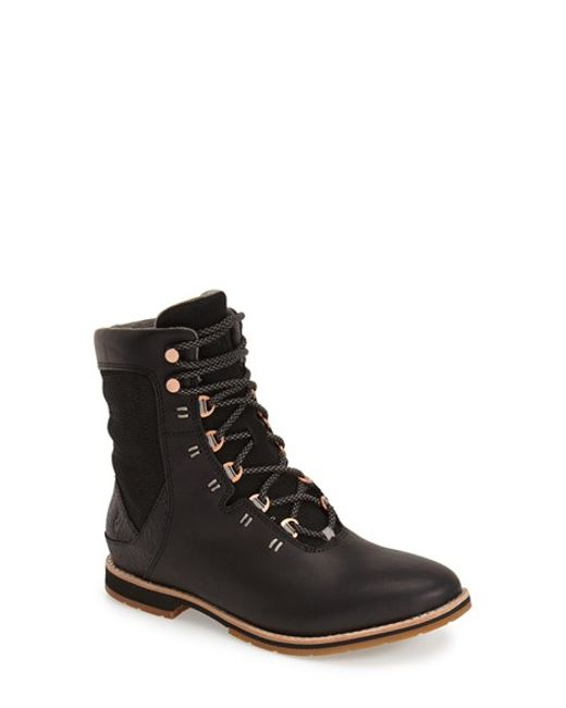 Ahnu | Black 'chenery' Water Resistant Boot | Lyst