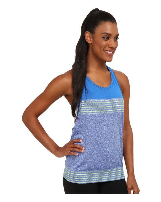 Nike | Blue Dri-fit™ Knit Loose Tank Top | Lyst