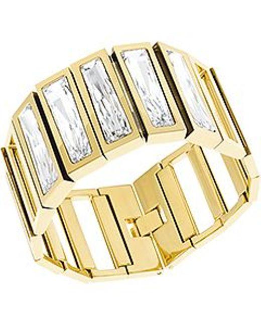 Swarovski | Metallic Brancusi Bracelet | Lyst