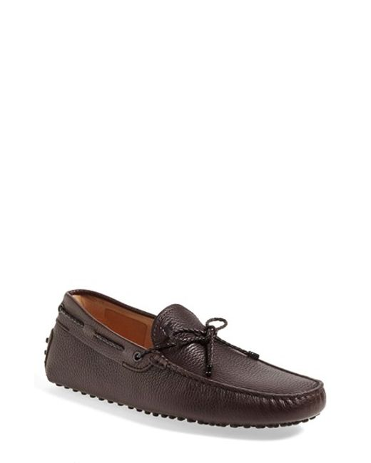 Tod's | Brown 'gommini' Driving Shoe for Men | Lyst