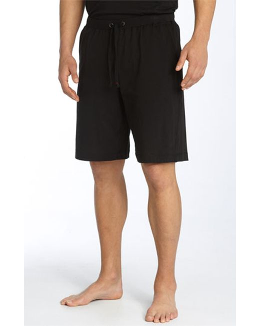 Daniel Buchler | Black Peruvian Pima Cotton Shorts for Men | Lyst