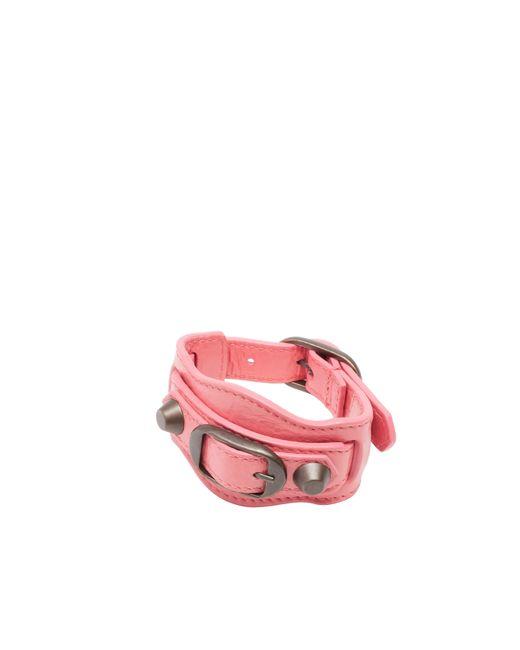Balenciaga | Pink Classic Bracelet | Lyst