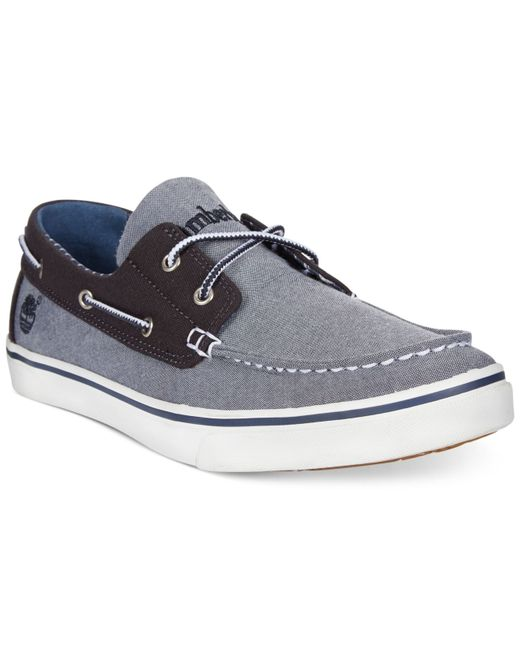 Timberland | Blue Earthkeepers Newmarket Boat Shoes for Men | Lyst