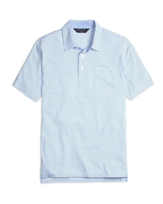 Brooks Brothers   Blue Slim Fit Stripe Polo Shirt for Men   Lyst