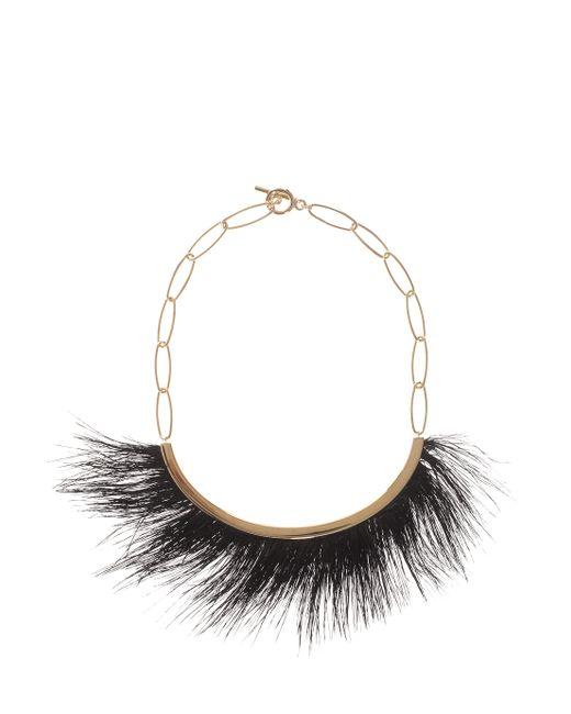 Isabel Marant | Metallic Hairy Necklace | Lyst