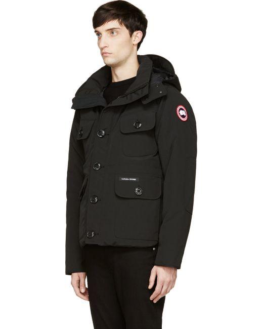 Canada Goose coats sale shop - Canada goose Black Down Selkirk Parka in Black for Men | Lyst