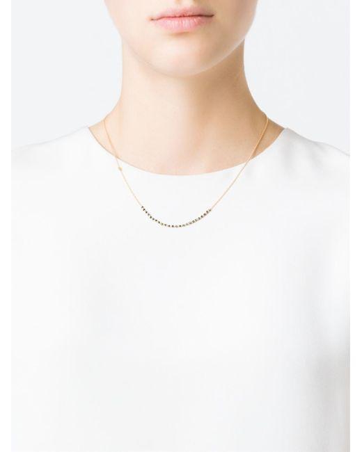 Natasha Collis | Metallic Black Diamond Classic Necklace | Lyst