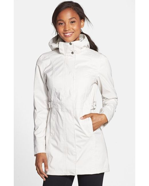 The North Face | White 'Laney' Trench Raincoat | Lyst