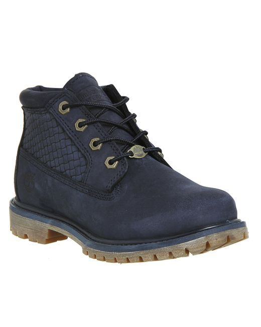 Beautiful  Premium Boots Gt Timberland Womens 6 Inch Boot 10061Navy White Wheat