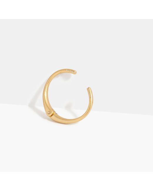 Madewell | Metallic Heliocurve Hinge Bracelet | Lyst