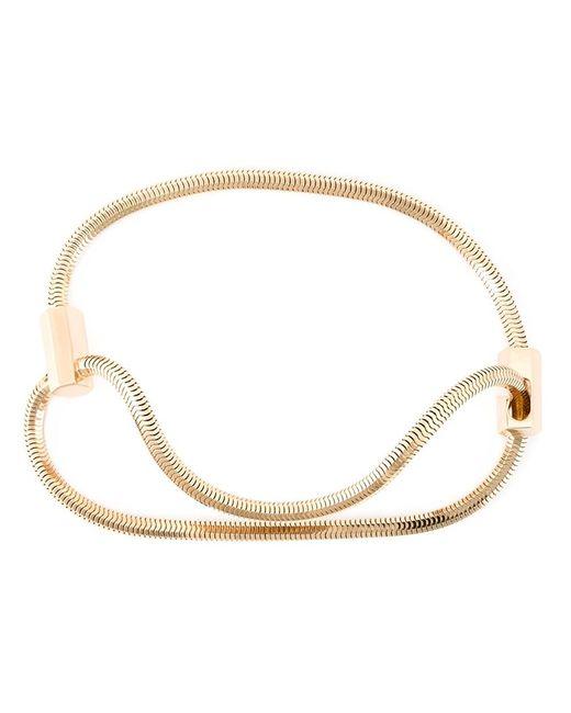 Lara Bohinc | Metallic 'schumacher' Choker Necklace | Lyst