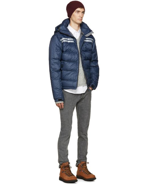 Canada Goose jackets sale cheap - Canada goose Blue Down Summit Jacket in Blue for Men | Lyst