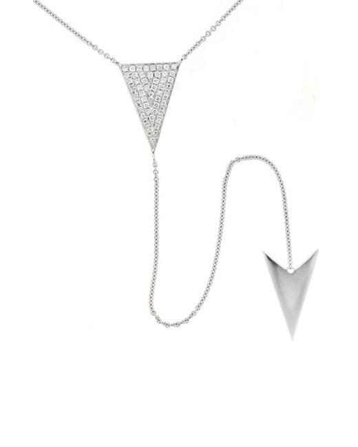 Bony Levy | Metallic Diamond Y-necklace (nordstrom Exclusive) | Lyst