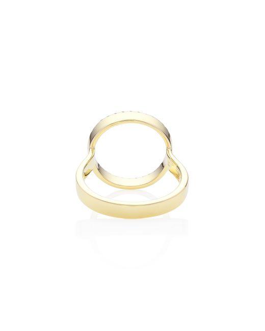 Monica Vinader | Metallic Naida Circle Open Ring | Lyst