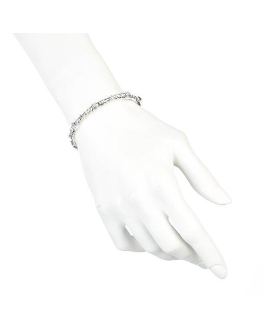 Alexis Bittar   Metallic Aqua Quartz And Blue Sapphire Hinge Bracelet You Might Also Like   Lyst
