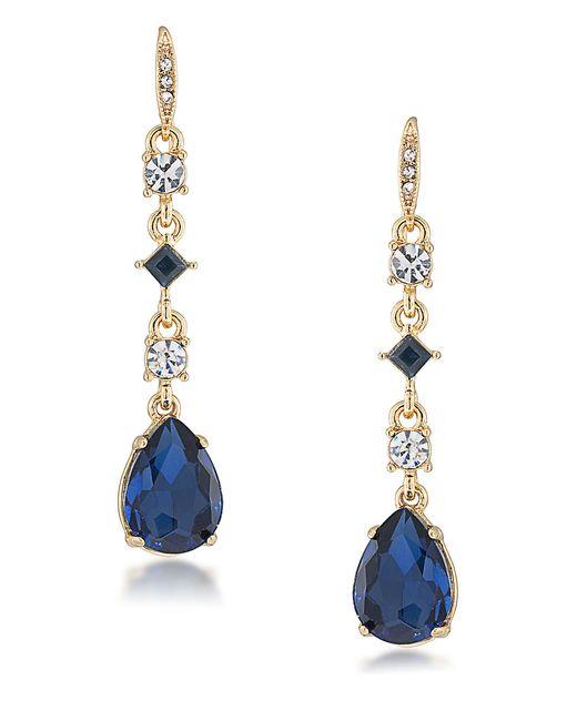 Carolee   Blue Note Stone Drop Earrings   Lyst