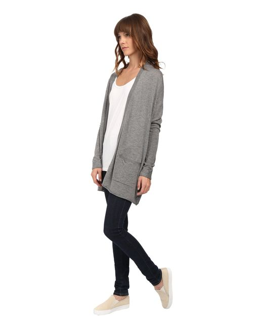Billabong | Gray Outside The Lines Cardigan | Lyst