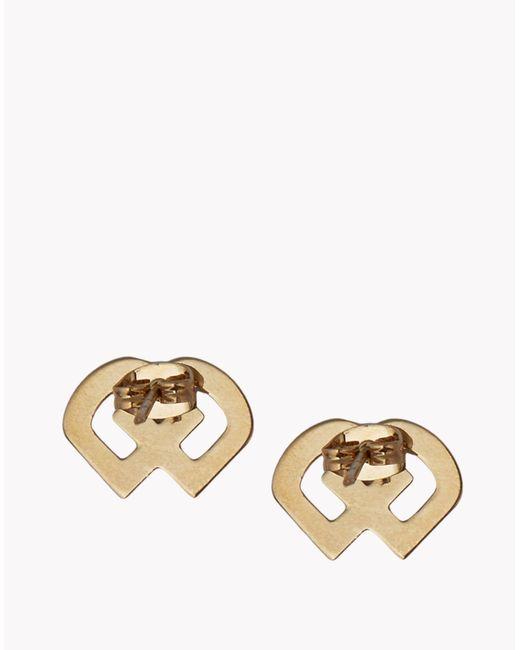 DSquared² | Metallic Dd Earrings | Lyst