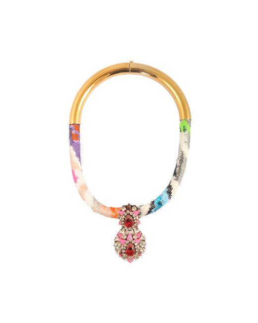 Shourouk   Multicolor Zulu Multi Necklace   Lyst