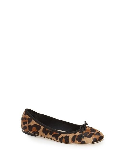 French Sole | Multicolor Pagan Calf-Hair Ballet Flats | Lyst
