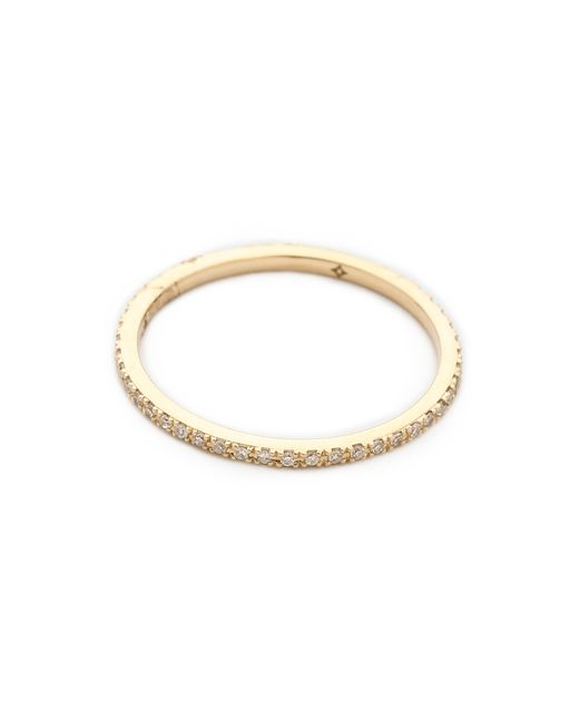 EF Collection | Yellow Diamond Eternity Stack Ring | Lyst