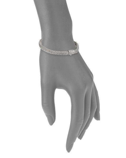 John Hardy | Metallic Classic Chain Sterling Silver Extra-small Bracelet | Lyst