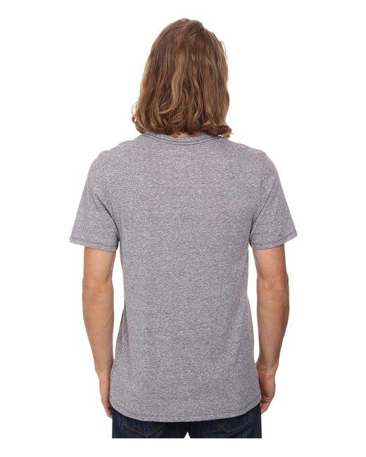 Hurley | Gray Staple Tri-blend V-neck for Men | Lyst