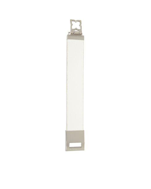 BCBGMAXAZRIA | White Icon Flip-lock Bracelet | Lyst